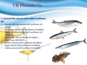 Wholesale seafood: Canned Fish Black Sea Baltic Sea