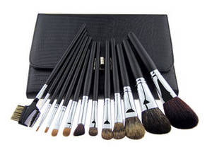 Wholesale makeup brush goat hair: Soft Goat Hair Cosmetic Bronzer Makeup Brush Professional Makeup Brush Kits