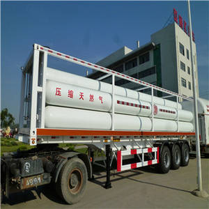 Wholesale cng for vehicle: CNG Tube Trailer (SKW9401TGY)