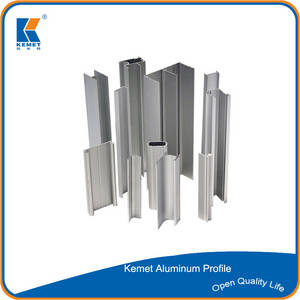 Wholesale window curtain: 6063 T5 Aluminum Extrusion Profile for Windows and Doors and Curtain Walls