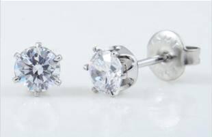 air gun: Sell 2016 best selling disposable ear piercing gun+Silver,Zircon Clear earring
