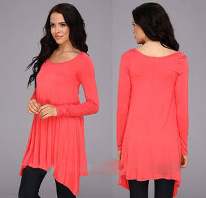 Wholesale Apparel Processing Services: Ladies All Matched Fashion Knit T-Shirt