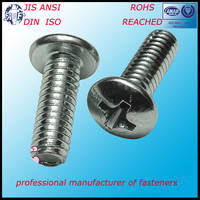 Stainless Steel Phillips Pan Head Machine Screw