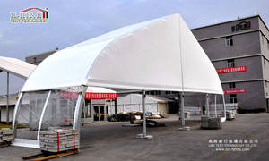 Wholesale outdoor tents for parties: The 1st Aluminum Tent Supplier's 25m*20m Tent Marquee with ABS Wall for Outdoor Party for Sale