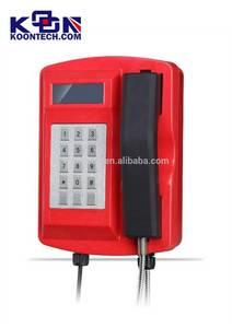 Wholesale Corded Telephones: Highway Telephone,  Waterproof Telephone IP67, Broadcasting Loudspeaker Telephone From Koontech