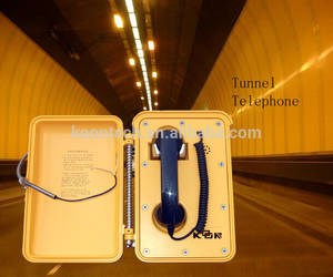 Wholesale sip ip phone: IP 66 Waterproof Tunnel Telephone ,Dust Proof Telephone,Without Dial Pad