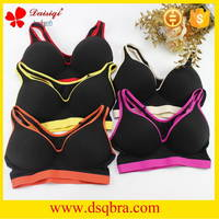 Sell Free sample women underwear sexy bra black sports bra new design