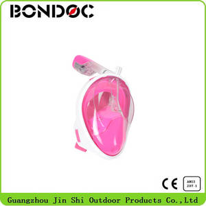 Wholesale full face mask: 2016Hot  Selling High Quality Full Face Snorkel Mask