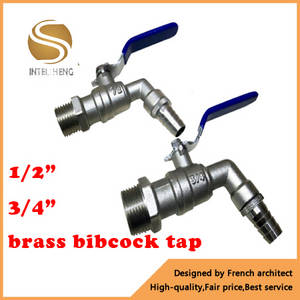 Wholesale Faucets, Mixers & Taps: Brass Bib Cock 1/2