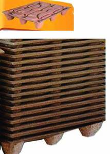 Wholesale transport freight solutions: Compressed Wood Pallets
