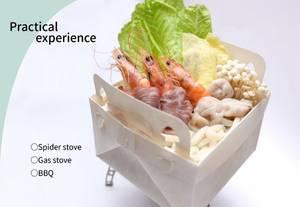 Wholesale Soup & Stock Pots: Camping Cooking Pot  Paper Disposable Eco-friendly