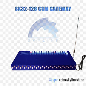 Wholesale sip phone voip phone: SK 32-128 Goip Gateway for Call Terminal Best Quality Asr Acd
