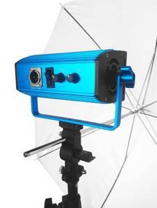 Wholesale led flood light: Latour 100W Aluminium Alloy CRI95+ COB LED Light with Lambency Umbrella Photo LED Studio Flood Light