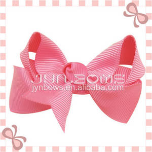 Wholesale Other Hair Accessories: Girls Boutique Hair Bows Colorful Ribbon with Alligator Clips