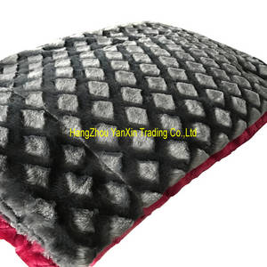 Wholesale velvet: Solid Brush PV Velvet Blanket Polyester Throw
