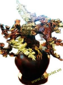 Wholesale vase: Wooden Flower Vase