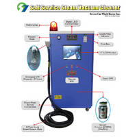 Self Service Steam Vacuum Machine