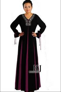 Wholesale used clothing dubai: KJ-WAB 6001 New Designs Dubaicrepe Lace Abaya