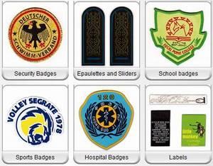 Wholesale woven badges: Woven Badges