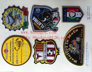 Wholesale embroidery badges: Embroidery Badges