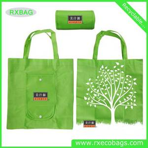 Wholesale Nonwoven Fabric: Custom Printing Convenient Hot Selling Recycle Laminated Non-Woven Shopping Bag