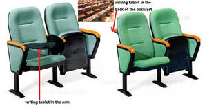 Wholesale School Furniture: Staging Seating Fixed Auditorium Theatre Chairs for Halls