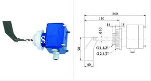 Wholesale switch: Rotary Paddle Level Switch High Temperature Solid Level Switch