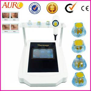 Wholesale rf skin lifting equipment: AU-68 Thermagic RF Face Lifting Skin Lift Equipment for Sale
