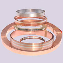 Wholesale silver plated copper strip: Silver Copper Clad Strips Used in Motor, Switch, Relays