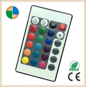 Wholesale universal remote control: 24 Keys IR Universal RGB LED Lights Remote Control