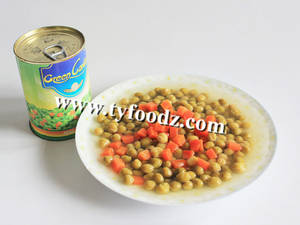 Wholesale canned vegetable: 2015 New Corp Canned Mixed Vegetables green peas and carrots