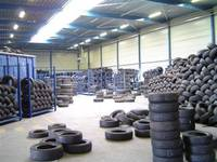 Truck and Car Tyre Scrap