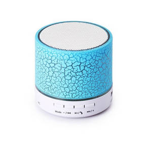 Wholesale intelligent lamp: Portable Mini Coloful LED Bluetooth Speaker with Light Pulse for Mobile and Computer Speaker with FM