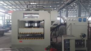 Wholesale steel door: Steel Door Embossing Hydraulic Press Machine