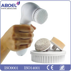 Wholesale body care: 4 in 1 Body Face Skin Care Cleaning Wash Brush Bath SPA Cleansing System