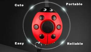 Wholesale flash light: ETE-3305 Flashing Light Wireless Personal Alarm