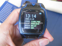Wrist Watch GPS Tracker with SMS Tracking and SOS Function