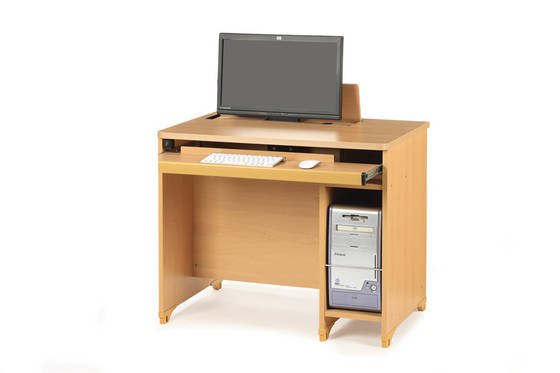 computer desk: Sell In Clined Automatic Desk for Monitor