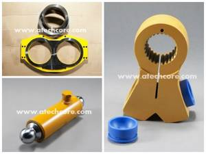 Wholesale plunger pump: Wear Plate, Plunger Cylinder, Swing Lever  for Concrete Pump