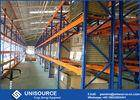 Wholesale i beam standard size in mm.: Commercial Heavy Duty Pallet Shelving Powder Coated With Wire Mesh Cage