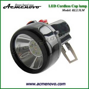 Wholesale led submersible light: KL2.5LM LED Miners Cap Lamp LED Mining Headlamp