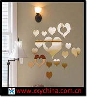 Acrylic Mirror Wall Stickers