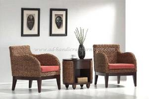 Wholesale water hyacinth furniture: Water Hyacint Coffee Set ( WACF-026)