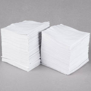Wholesale Paper Napkins & Serviettes: Prevent Water Marks On Your Bar and Serve Beverages with This Choice 1-ply White Beverage / Cocktail