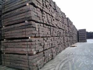 Wholesale Train Parts: Used Wooden Railway Sleepers