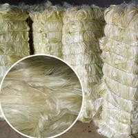 White Sisal Fiber for Gypsum Board / Sun Dried Sisal Fiber .