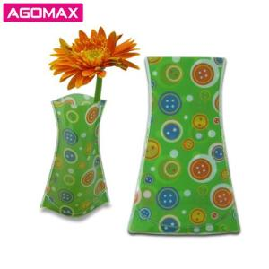 Wholesale fashion: Fashion High Quality Magic PVC Foldable Vase