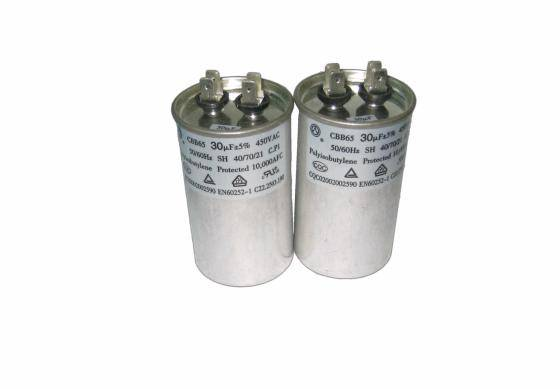 Cbb65 30uf motor start capacitor from anhui safe for Motor start capacitors for sale