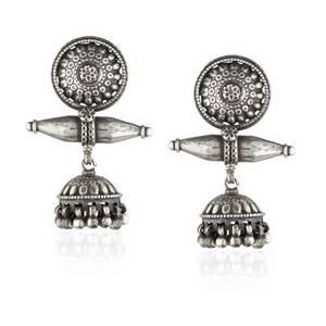 Wholesale Earrings: Temple Jhumkis