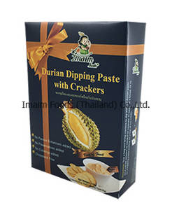 Wholesale durian: Durian Dipping Paste with Crackers
